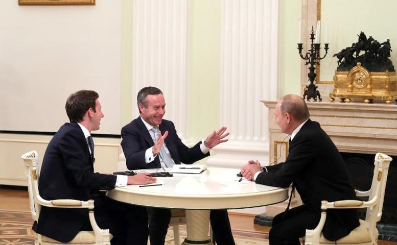 Ведущие западные издания, как это ни странно, в каком-то смысле встали на сторону Путина в его риторике / Официальный сайт президента России