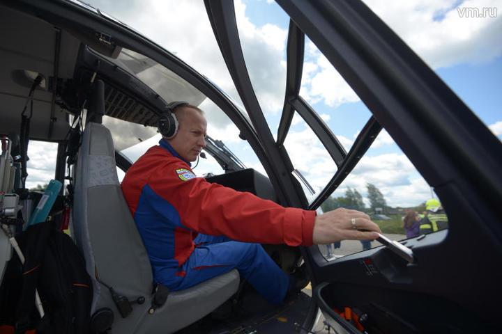 В основу «вертолетного такси» положен легкий однодвигательный вертолет VRT500 / Наталья Феоктистова, «Вечерняя Москва»