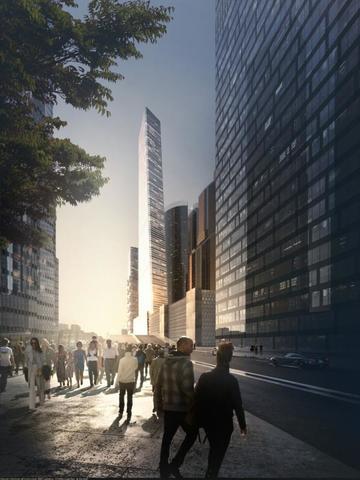 Это будет первый жилой комплекс на территории «Москва-Сити» с квартирами в самом центре деловой жизни столицы / предоставлено пресс-службой Стройкомплекса г. Москвы