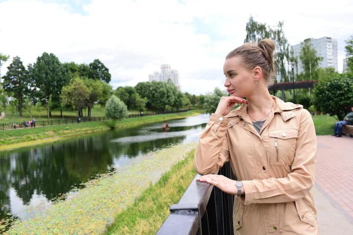 На фото: москвичка Ирина Ковалева / Пелагия Замятина, «Вечерняя Москва»