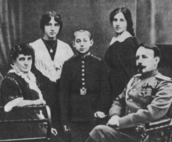 Семья Веры Кербиц / Wikipedia/Общественное достояние