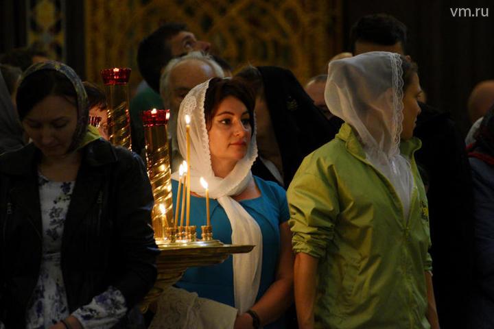 Торжественный молебен длился полчаса / Пелагия Замятина, «Вечерняя Москва»