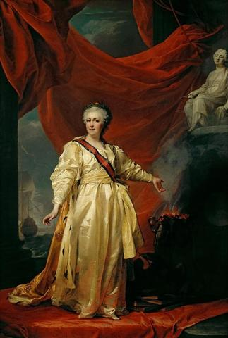 Императрица ВсероссийскаяЕкатерина II (Левицкий Д. Г., 1783 год) / Wikipedia/Общественное достояние
