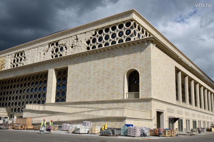 По своей архитектуре здание будет сочетаться с остальными объектами «Лужников» / Владимир Новиков, «Вечерняя Москва»