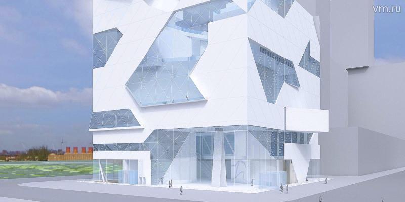 Согласно плану, у здания будет необычная фасадная конструкция / пресс-служба Москомстройинвеста