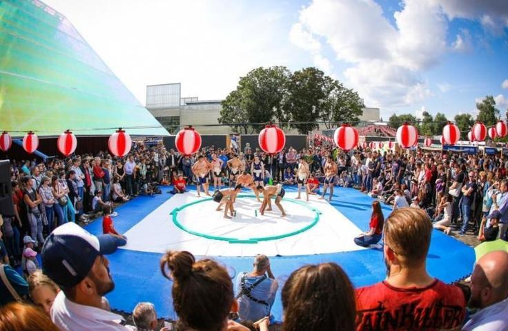 Фестиваль японской культуры состоялся в парке Горького / Евгения Козлова для «Вечерней Москвы»