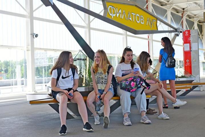 Станция метро «Филатов луг» в Новой Москве / Александр Кожохин, «Вечерняя Москва»