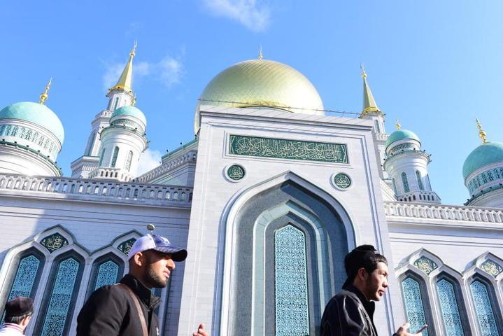 Московская соборная мечеть / Пелагия Замятина, «Вечерняя Москва»