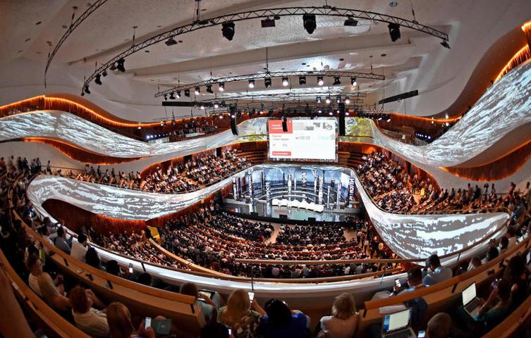 В этом году на конкурсе «Проект года» лучшим признан концертный зал «Зарядье» / Михаил Колобаев/Пресс-служба мэра и правительства Москвы
