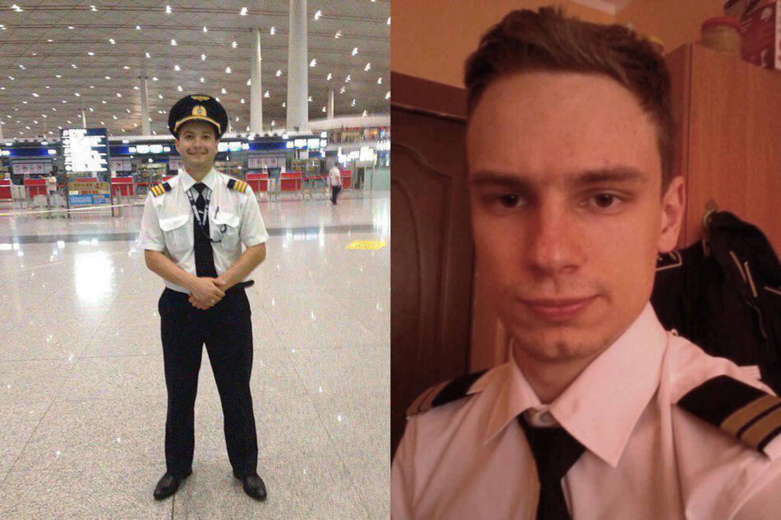 Пилоты А321 Дамир Юсупов и ГеоргийМурзин