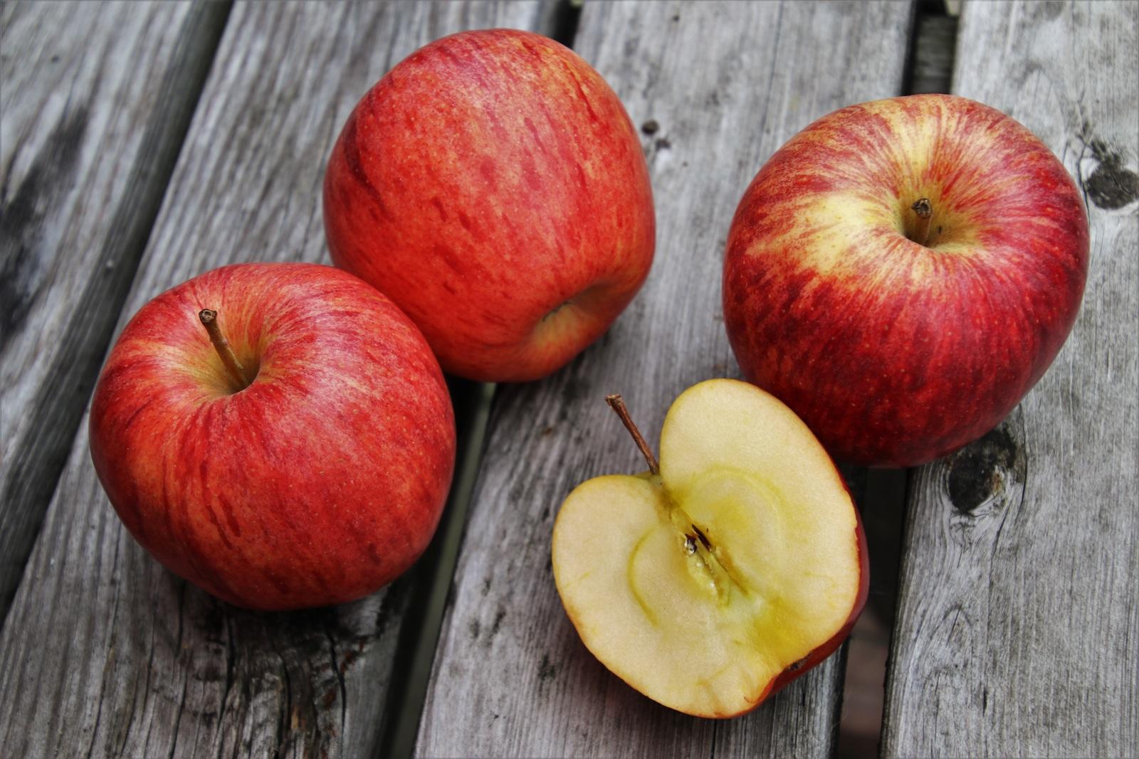 Коллективное поедание яблок тоже представляется забавным / https://pixabay.com
