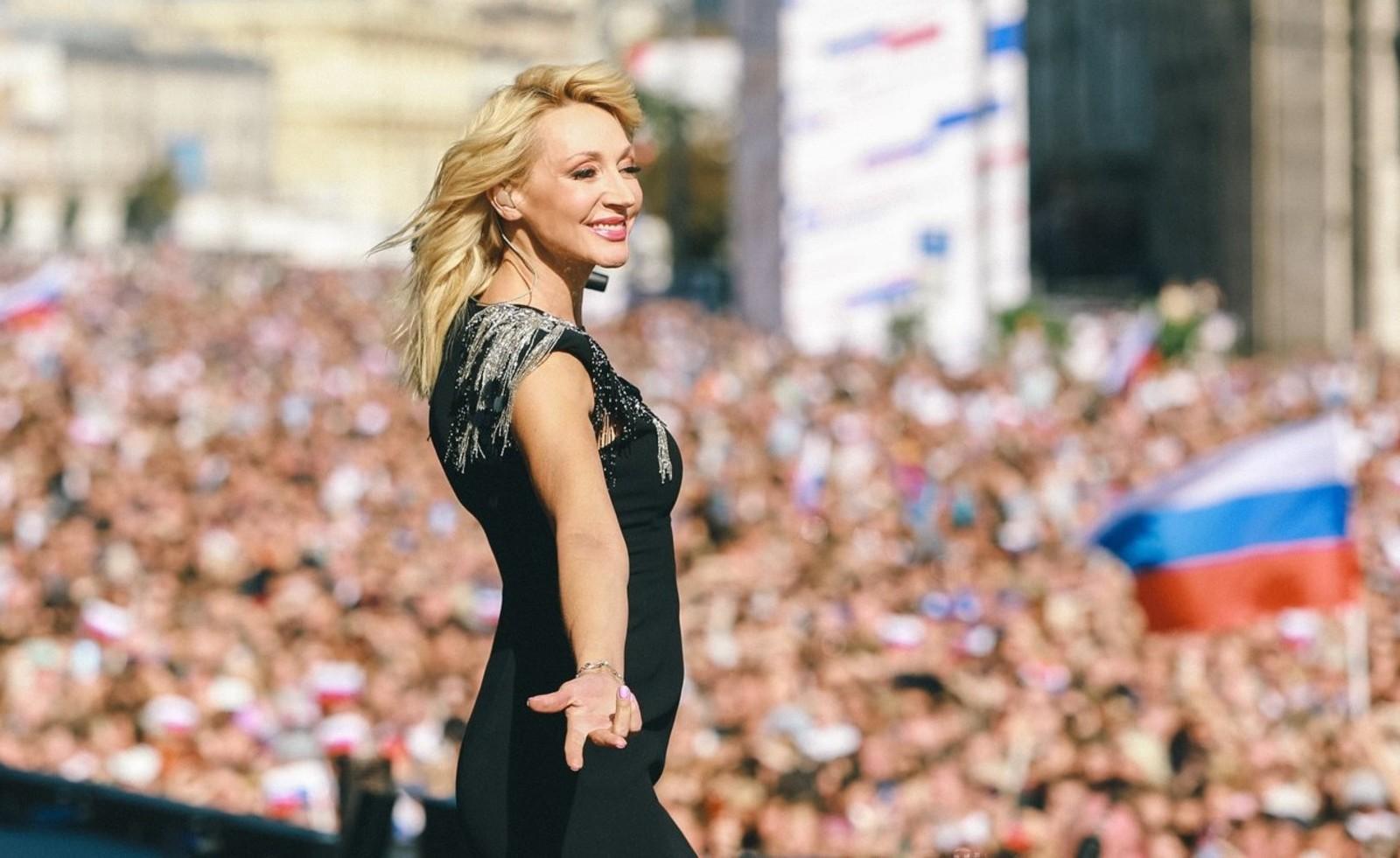 В праздничном концерте приняла участие певица Кристина Орбакайте и другие артисты / официальный портал мэра Москвы