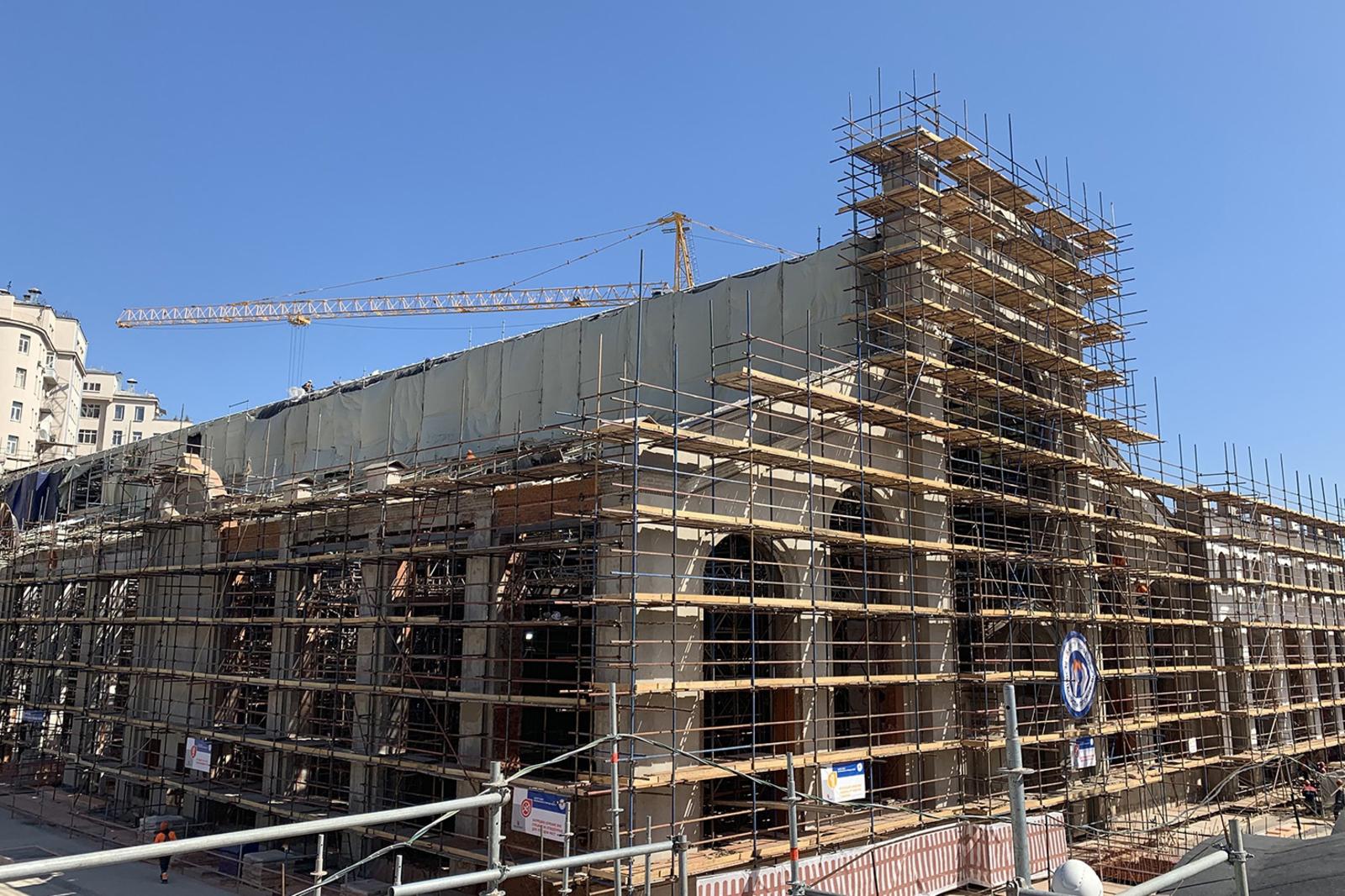 официальный сайт Комплекса градостроительной политики и строительства Москвы